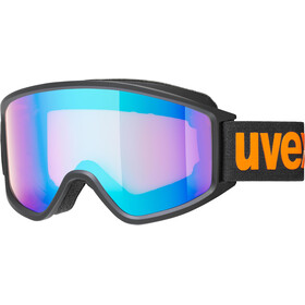 UVEX g.gl 3000 CV Masque, black mat/Colorvision blue energy